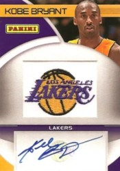 2011 Panini Black Friday Kobe Bryant Autograph Patch