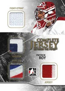 2010/11 ITG Between The Pipes Complete Jersey Card CJ-06 Patrick Roy