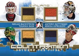 2010/11 ITG Between The Pipes Country Men Quad Jersey Card
