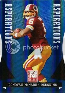 2011 Donruss Elite Donovan McNabb Aspirations Parallel Card #50/95