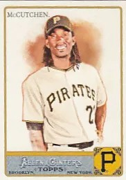 2011 Topps Allen & Ginter Andrew McCutchen Base Card