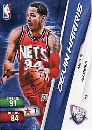 10-11 Devin Harris Adrenalyn Card