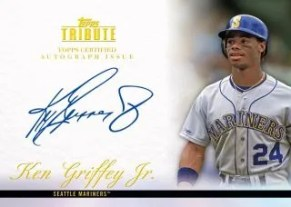2012 Topps Tribute Ken Griffey Jr. Autograph