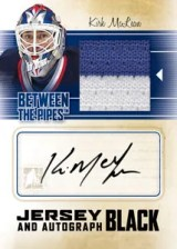2010/11 ITG Between The Pipes Kirk McLean Jersey and Autograph Card