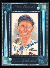 2012 Historic Autographs Ted Williams Legends of the Hall