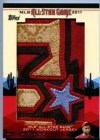 2011 Topps Update Series David Price Jumbo All-Star Jersey Patch Card