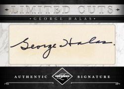 2011 Panini Limited Cuts George Halas
