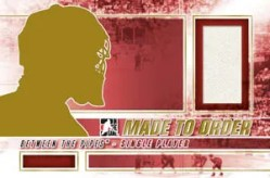 2010/11 ITG Between The Pipes Single Made To Order Mystery Redemption Card
