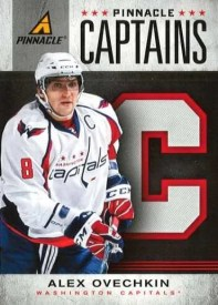 2011-12 Pinnacle Captains Alex Ovechkin Insert Card