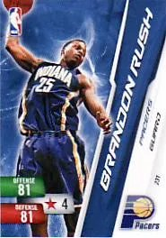 2010-11 Brandon Rush Free Adrenalyn Code