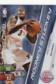 Rodney Stuckey Adrenalyn Special Card Code