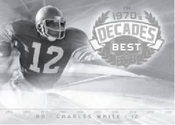 2011 UD Legends Decades Best Charles White