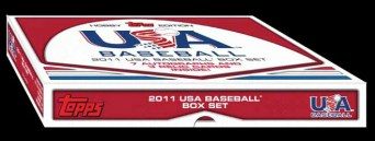 20111 Topps USA Baseball Box Set