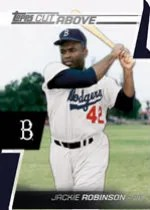 2012 Topps Series 2 Jackie Robinson A Cut Above
