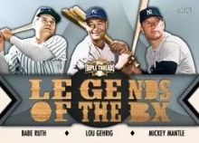 2012 Topps Triple Threads Legends of the Box