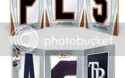 2012 Topps Triple Threads Evan Longoria Letter Number Logo Book