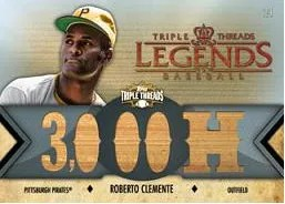 2012 Topps Triple Threads Roberto Clemente Relic