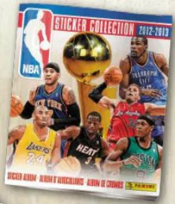 2012-13 Panini NBA Sticker Collection Album