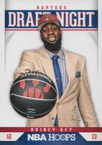 2012/13 Panini Hoops NBA Draft Night Insert #19 Quincy Acy