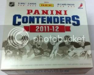 2011-12 Playoff Contenders Hockey Hobby Box