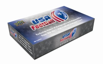 2011 Upper Deck UD USA Football Box Set