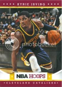 2012-13 Panini NBA Hoops Kyrie Irving Card