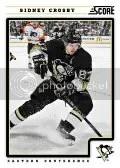 2012-13 Score Sidney Crosby Base Card