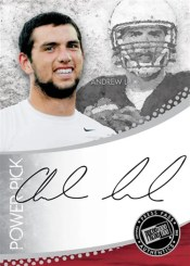 2012 Press Pass Andrew Luck Autograph Power Pick