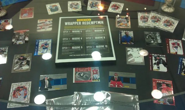2012 Panini NSCC Wrapper Redemption