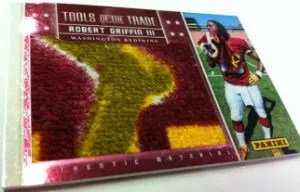 2012 Panini NSCC Wrapper Redemption Tools of the Trade Card Robert Griffin III