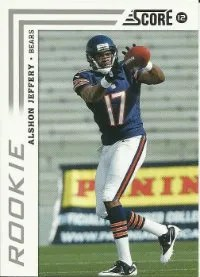 2012 Score Alshon Jeffery RC Card