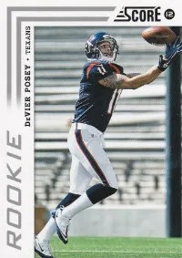 2012 Score DeVier Posey Photo Variation Rookie Card