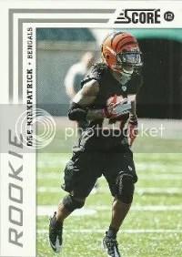 2012 Score Dre Kirkpatrick Rookie Card