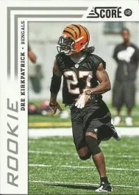 2012 Score Dre Kirkpatrick SP Photo Variation RC