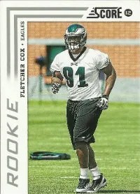 2012 Score Fletcher Cox Photo Variation SP Rookie