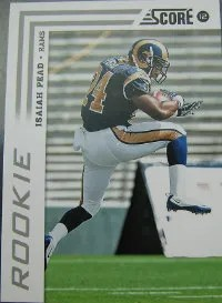 2012 Score Football Isaiah Pead Rookie SP Photo Variation Card