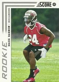 2012 Score Football Mark Barron Rookie Card