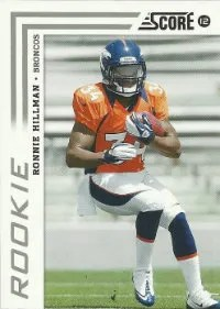 2012 Score Football Ronnie Hillman Rookie #371
