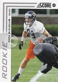 2012 Score Football Shea McClellin Photo Variation RC Card