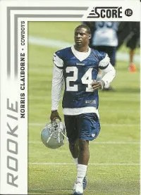 2012 Score Morris Claibore SP Photo Variation RC Card