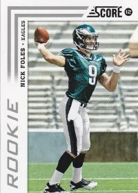 2012 Score Nick Foles Photo Variation SP Rookie