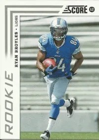 2012 Score Ryan Broyles RC Card