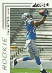 2012 Score Ryan Broyles SP Variation RC