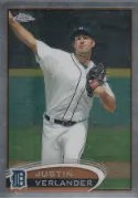 2012 Topps Chrome Justin Verlander SP Photo Varitation