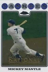 2012 Topps Chrome Mickey Mantle NSCC Base Card