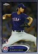 2012 Topps Chrome Yu Darvish Rookie Card #151