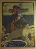 2012 Topps Chrome Yu Darvish SP Photo Variation RC