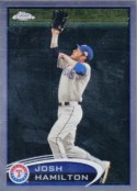 2012 Topps Chrome Josh Hamilton Base Card #30