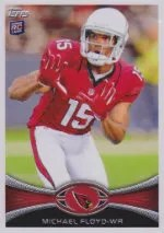 2012 Topps Michael Floyd SP Photo Variation RC