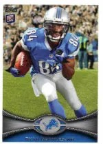 2012 Topps Ryan Broyles SP Photo Variation RC